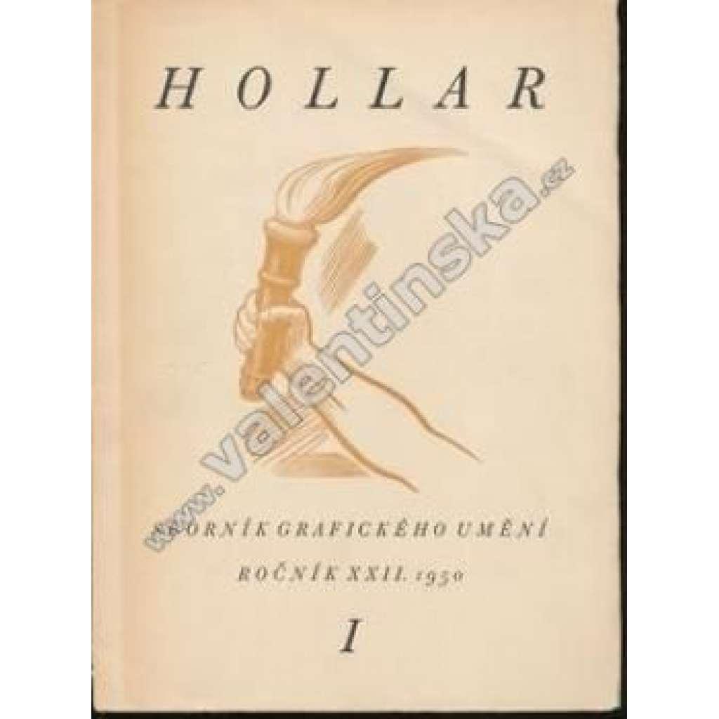 HOLLAR - Sborník grafického umění. XXII./I. - 1950