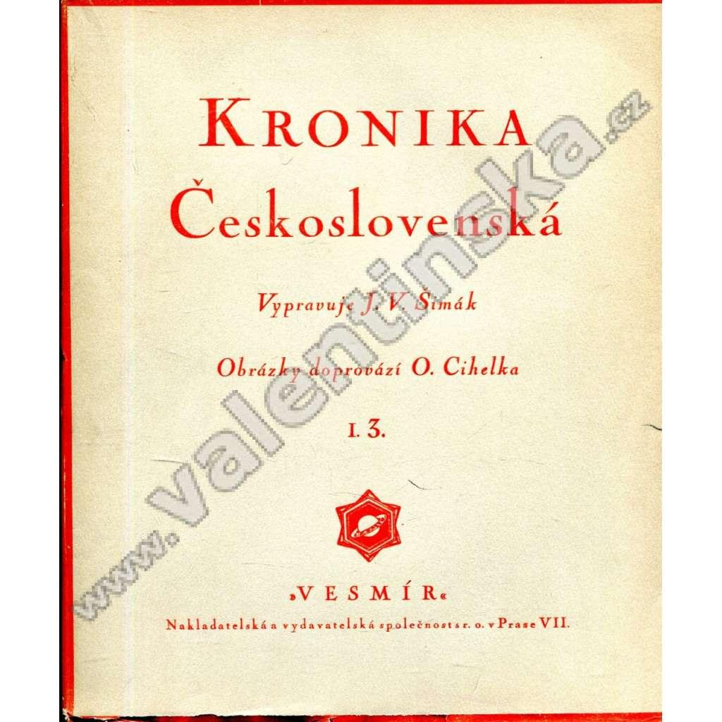 Kronika Československá I. 3.