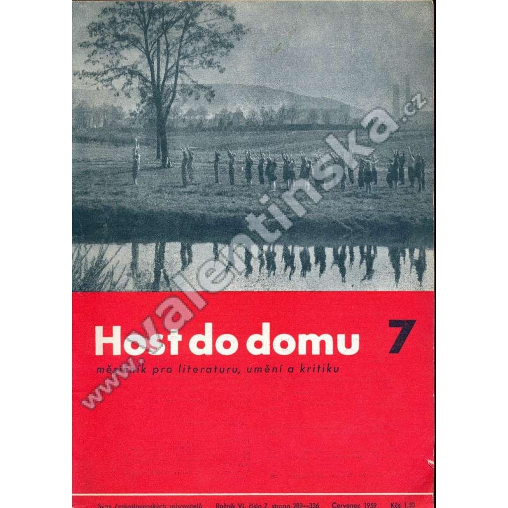 Host do domu, 7/1959