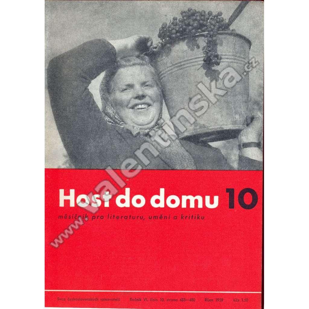 Host do domu, 10/1959