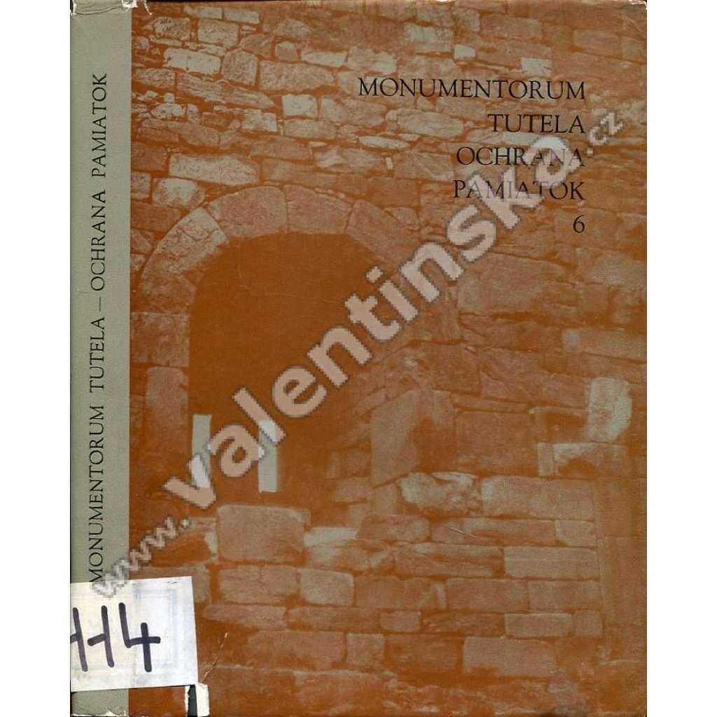 Monumentorum Tutela = Ochrana pamiatok, 6