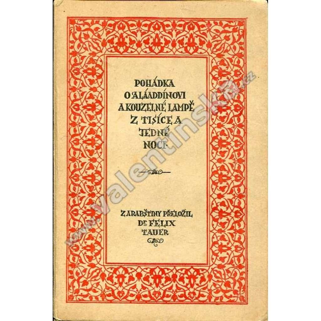 Pohádka o Aláaddínovi a kouzelné lampě...