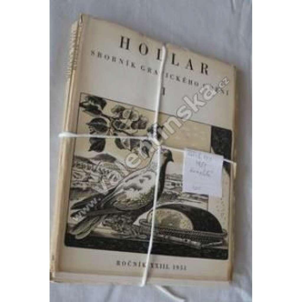 HOLLAR - Sborník grafického umění. XXIII. 1951