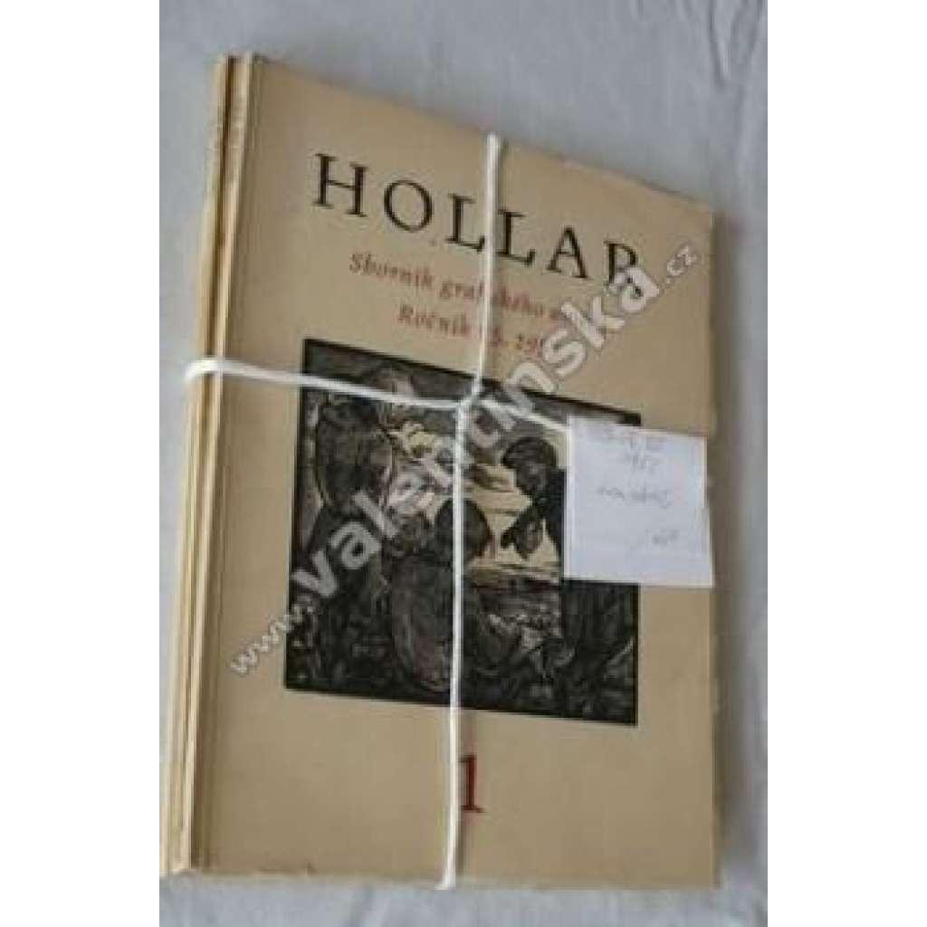 HOLLAR - Sborník grafického umění ročník 25/1953