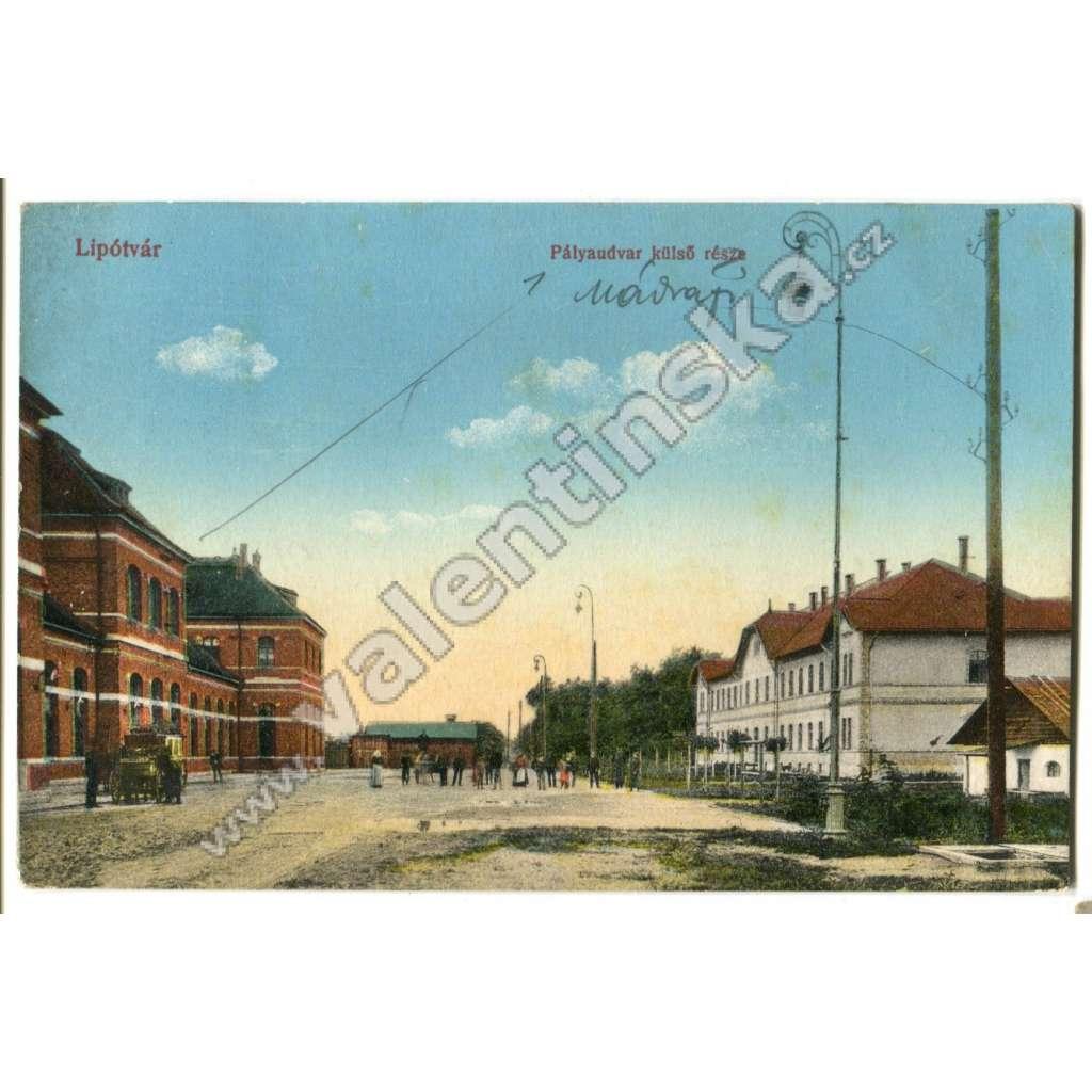 Leopoldov Lipotvar, nádraží,, Hlohovec
