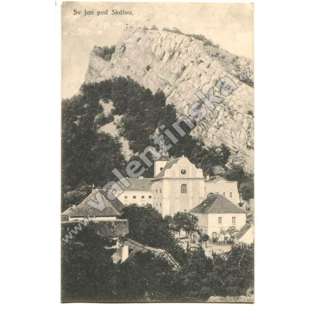 Svatý Jan pod Skalou, Beroun.