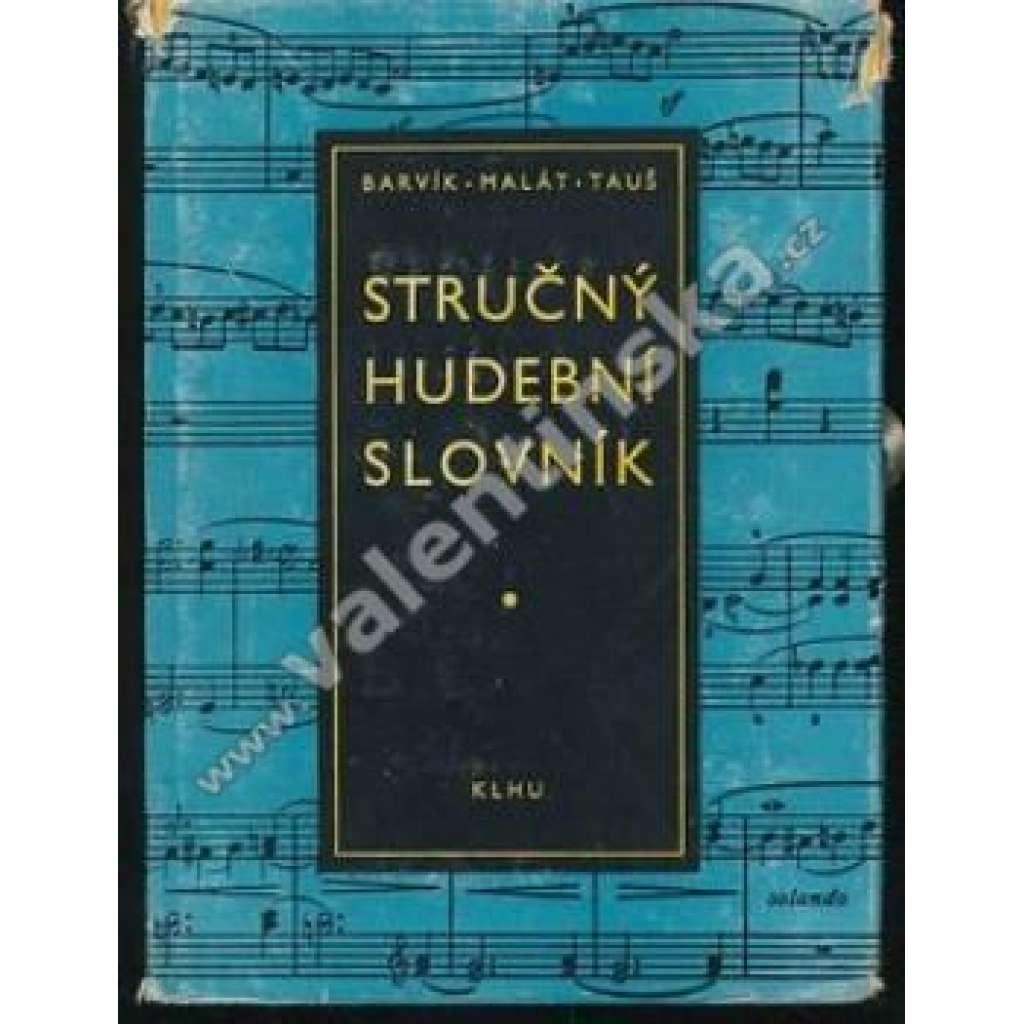 Stručný hudební slovník