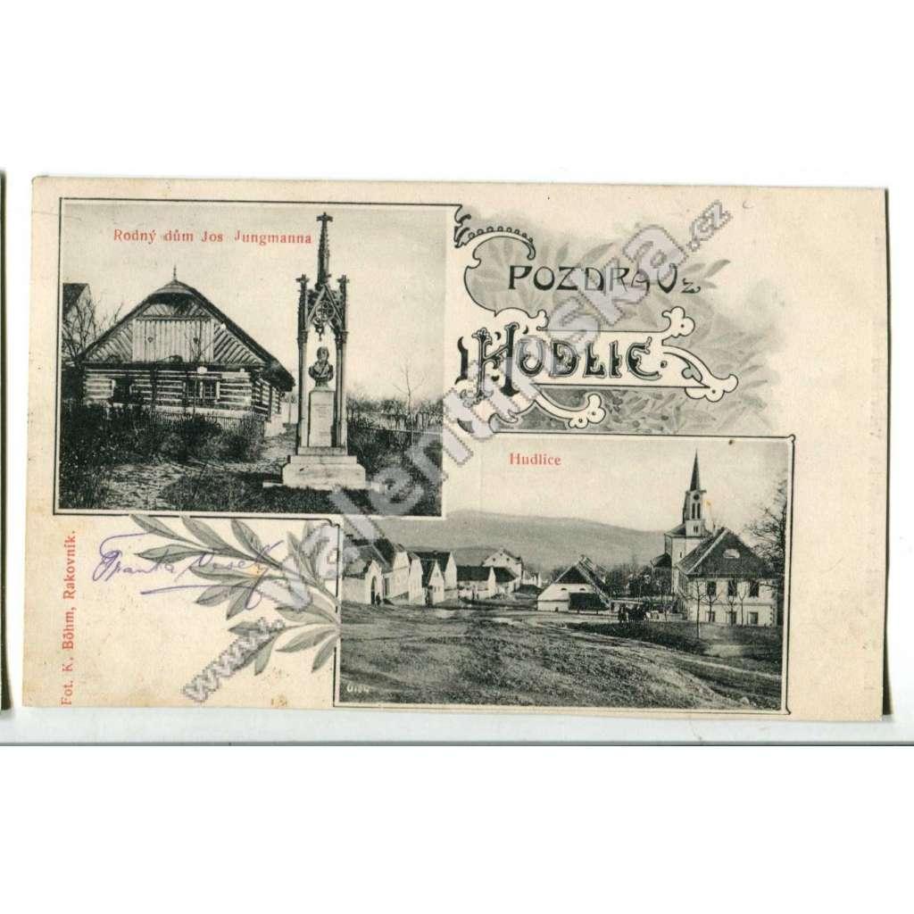 Hudlice,Beroun Jungmann rodný dům