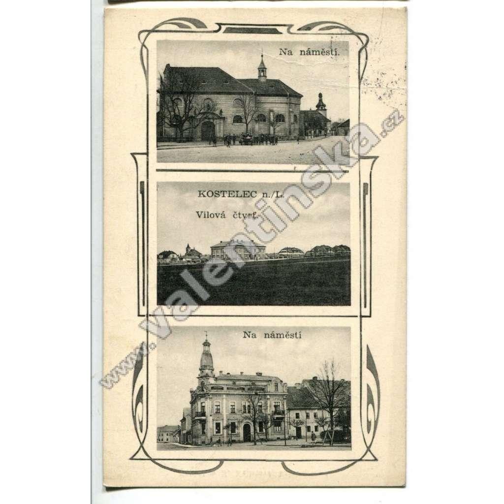 Kostelec nad Labem, Mělník
