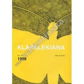 Klapalekiana, vol. 34, no. 3-4 (1998)