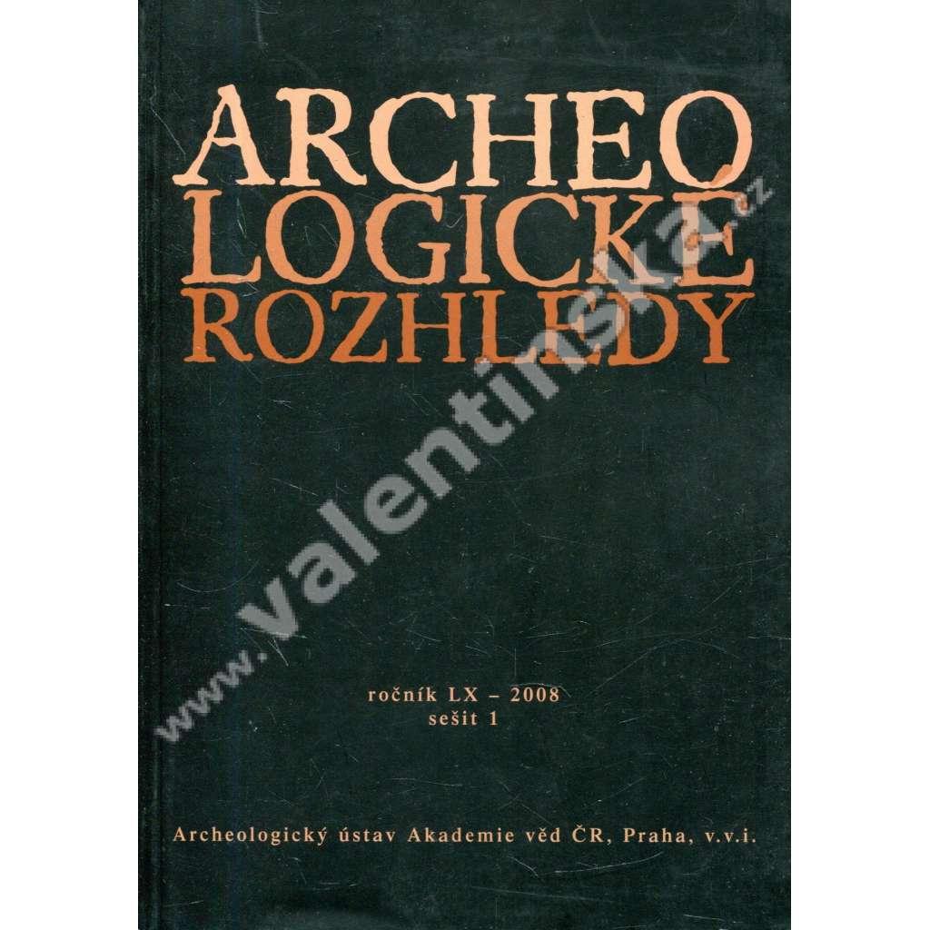 Archeologické rozhledy , roč. LX - 2008, seš. 1