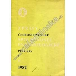 Zprávy Čs. společnosti entomologické, 1/1982