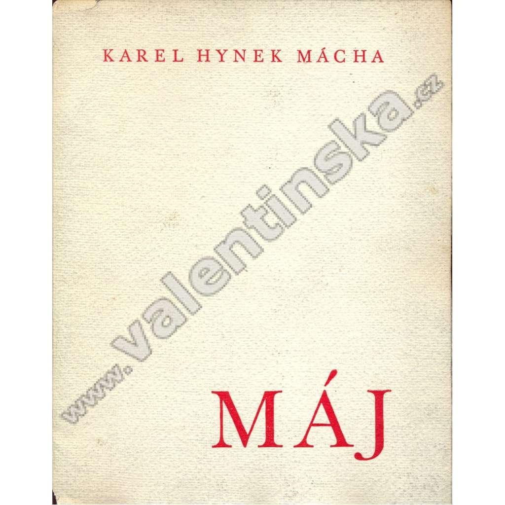 Máj (1936) - vyd. in Prostějov Skupina moravských knihomilů 1936.
