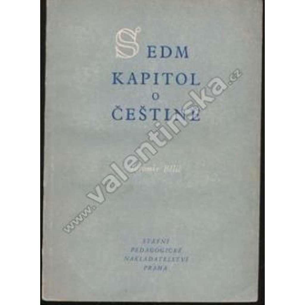 Sedm kapitol o češtině