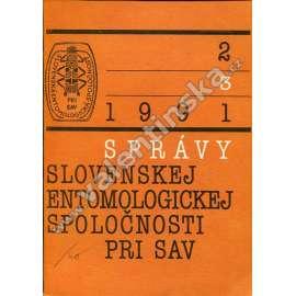 Správy Slovenskej entomologickej spol., 2/1991