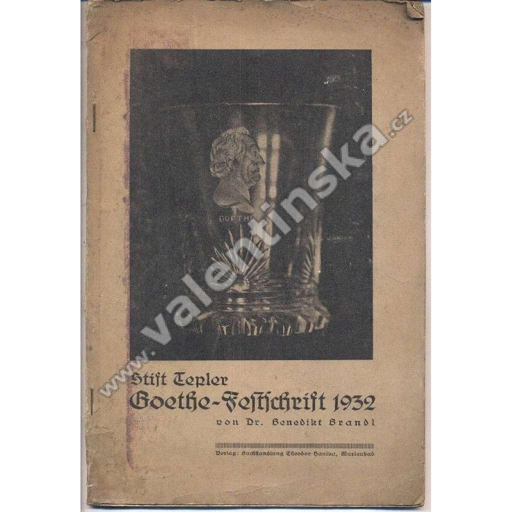 Stift Tepler Goethe-Festschrift 1932