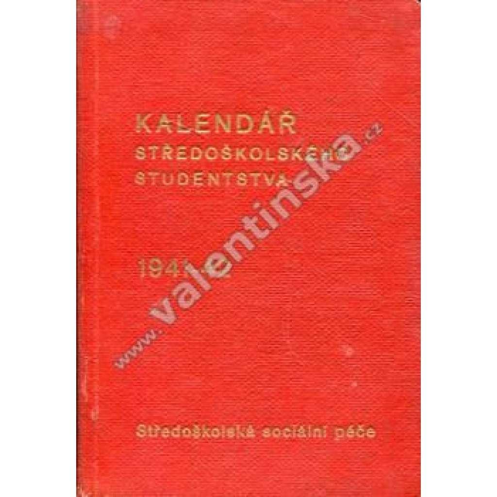 Kalendář středoškol. studentstva, 1941-42