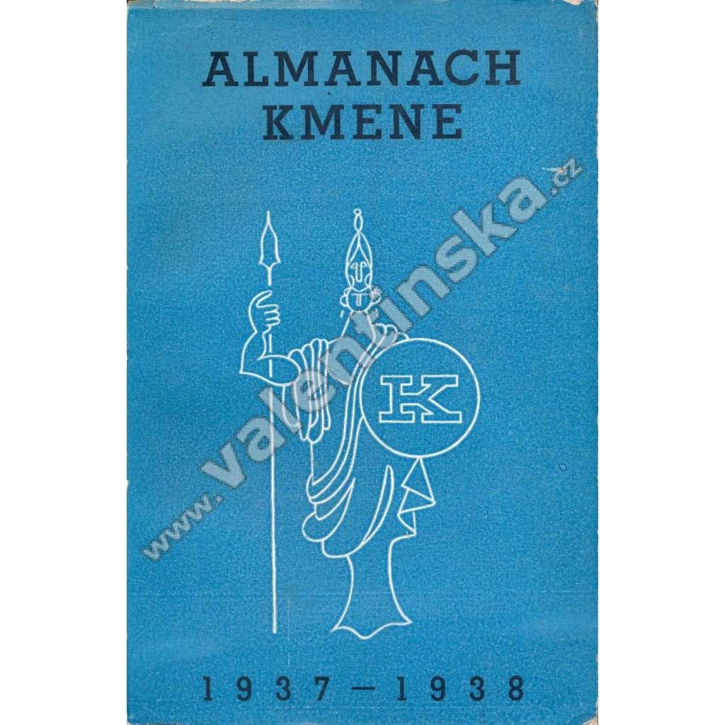 Almanach Kmene 1937-1938