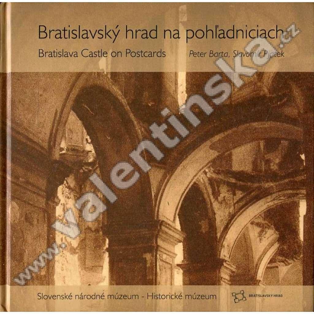 Bratislavský hrad na pohladniciach