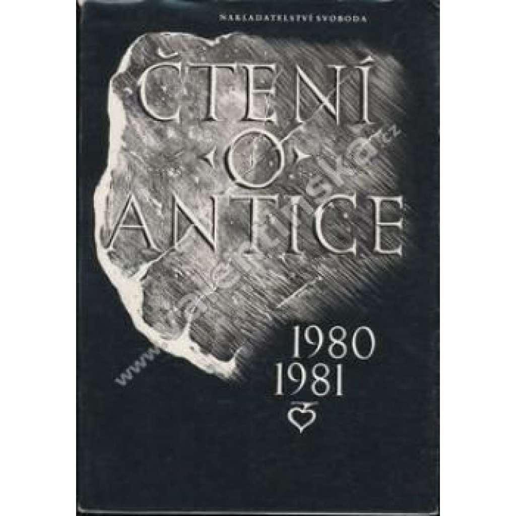Čtení o antice 1980-1981
