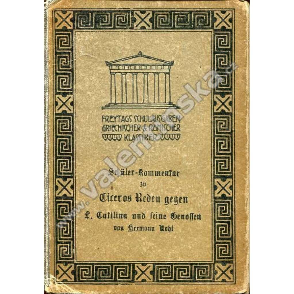 Schüler-Kommentar zu Ciceros Reden...
