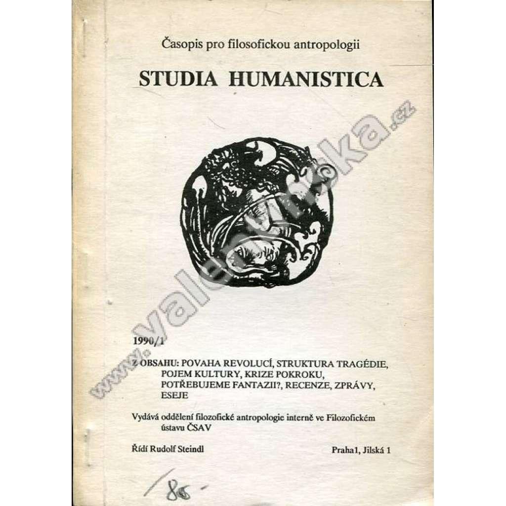 Studia humanistica, 1990/1
