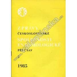 Zprávy Čs. společnosti entomologické, 2/1985