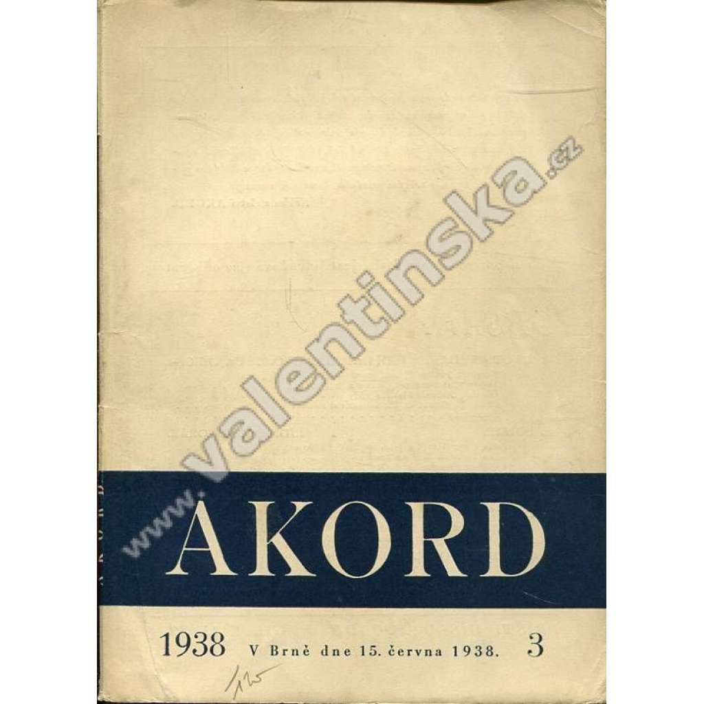 Akord, 3/1938 (červen 1938)