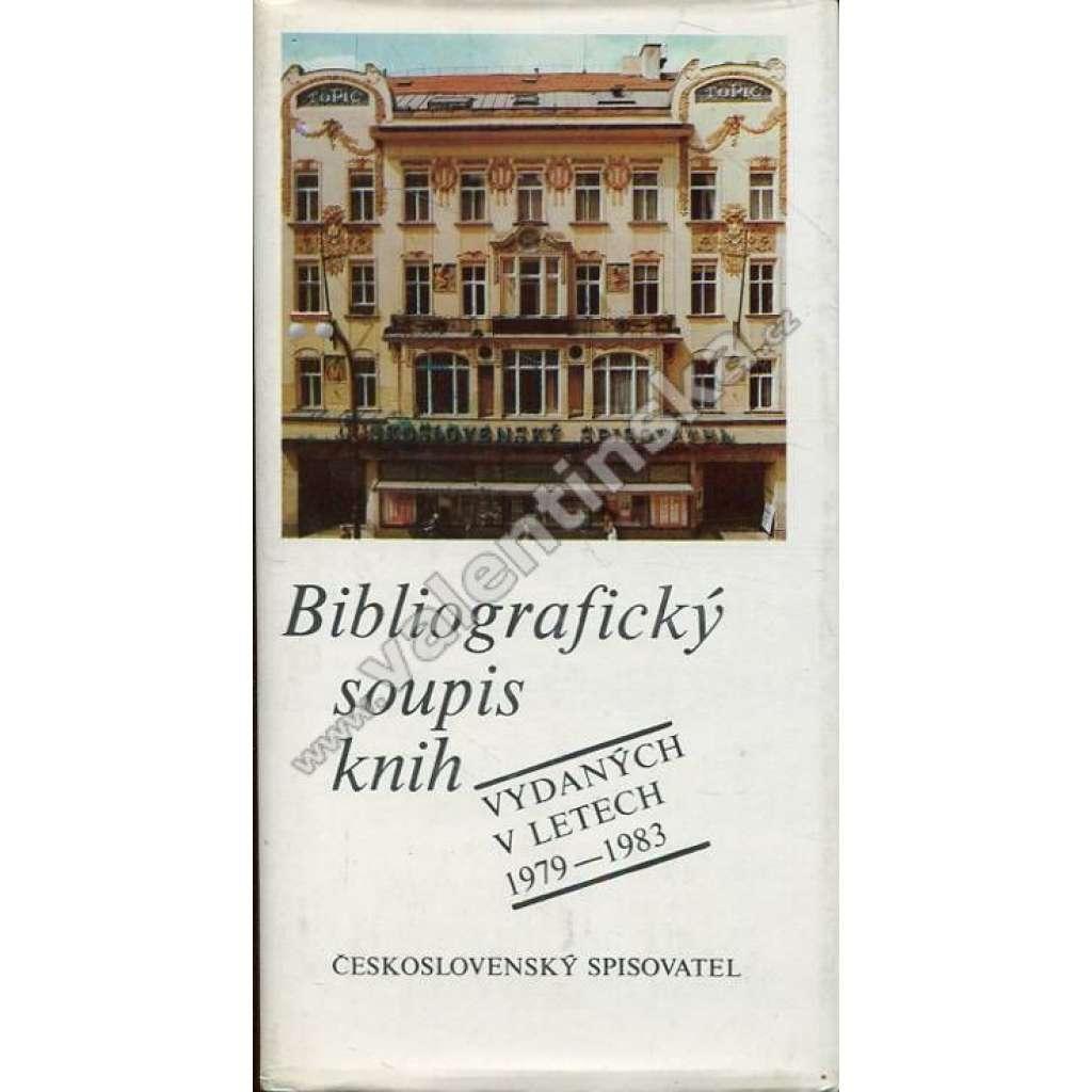 Bibliografický soupis knih vyd. v letech 1979-1983