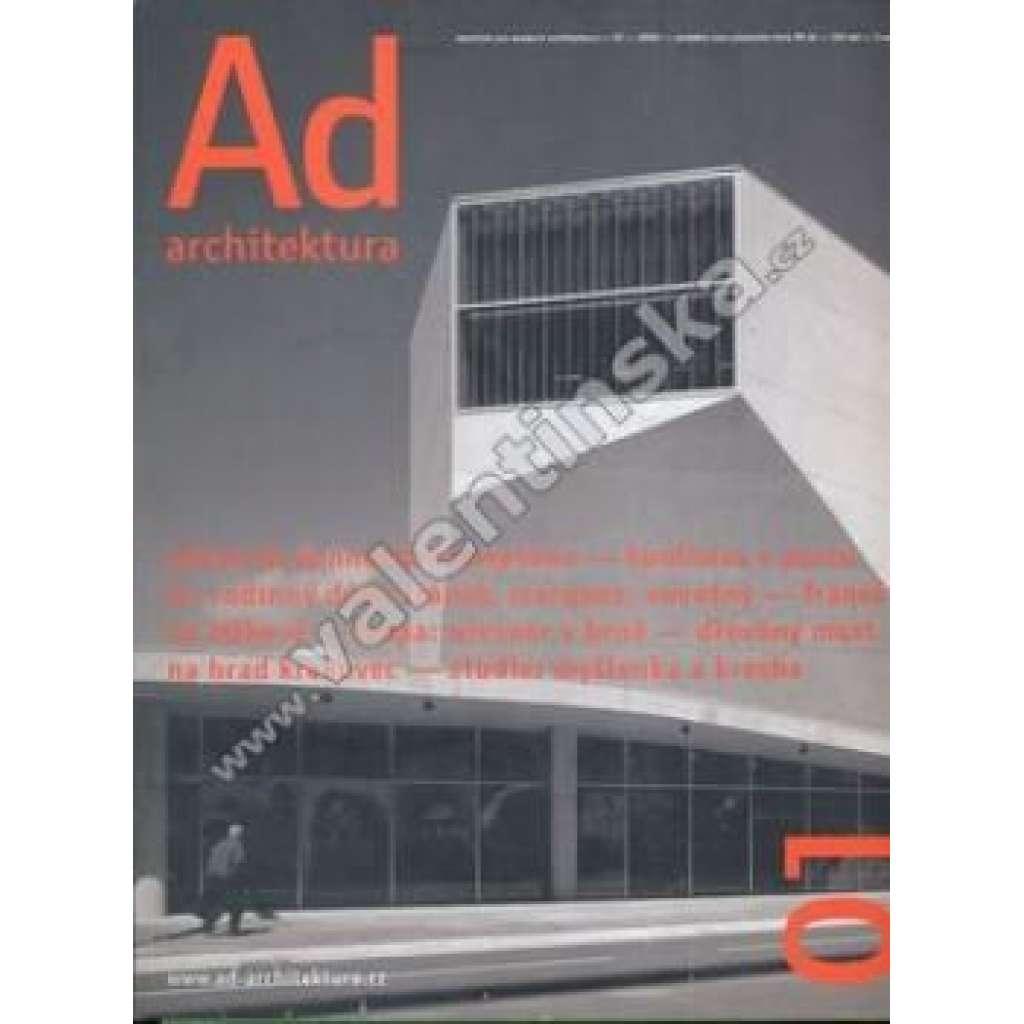 Časopis Ad architektura, 2005/1