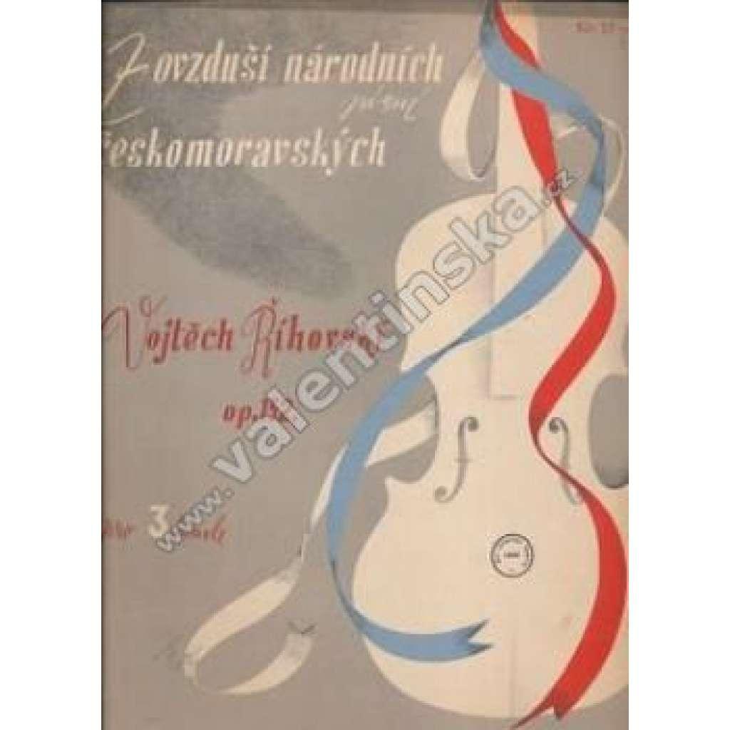Z ovzduší národních písní českomoravských