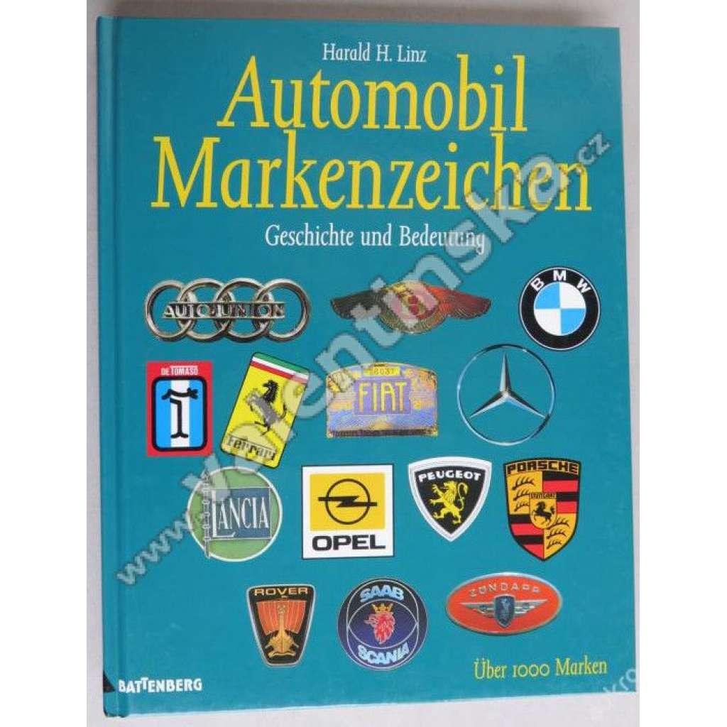 Automobil Markenzeichen. Geschichte und Bedeutung