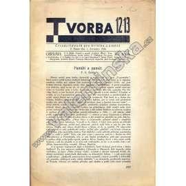 Tvorba, 12-13/1926
