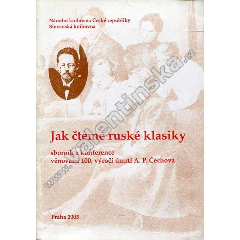 Jak čteme ruské klasiky