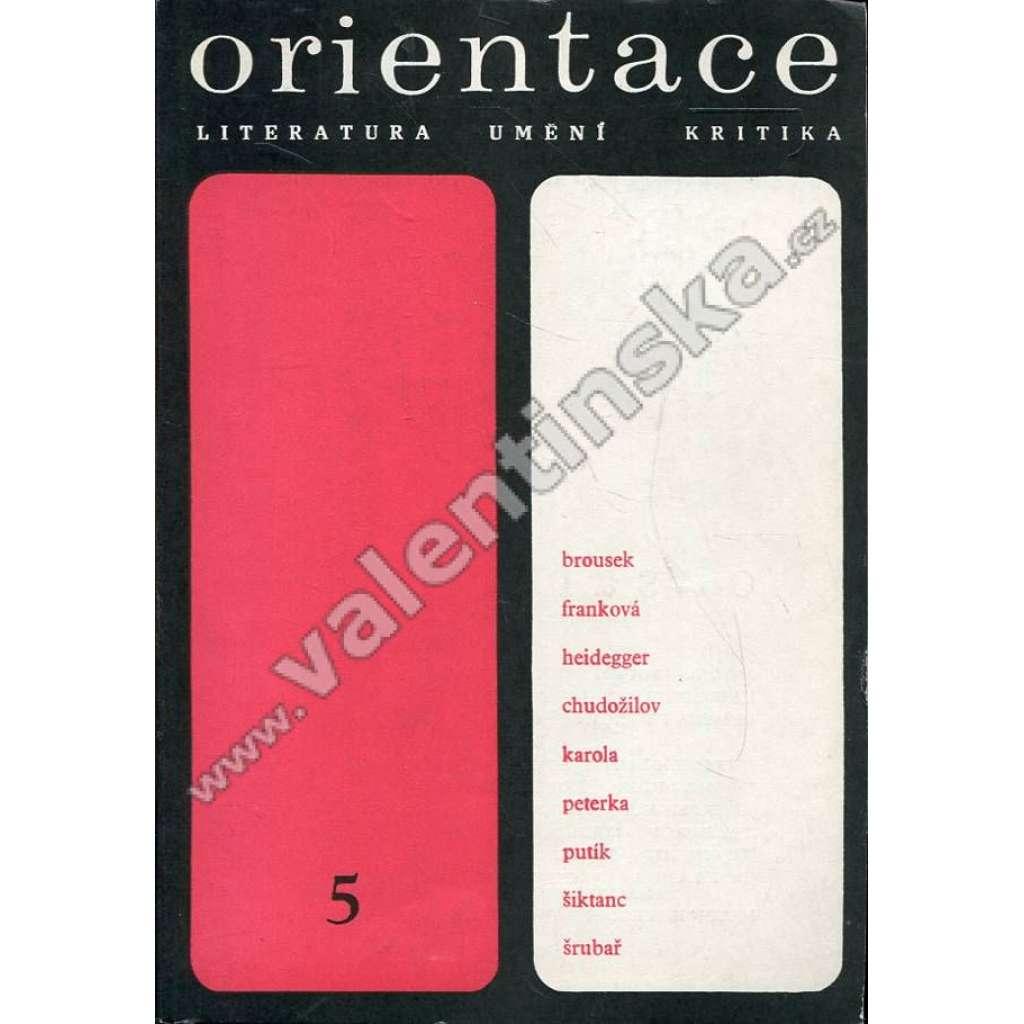 Orientace, 5/1969 (r. IV.)