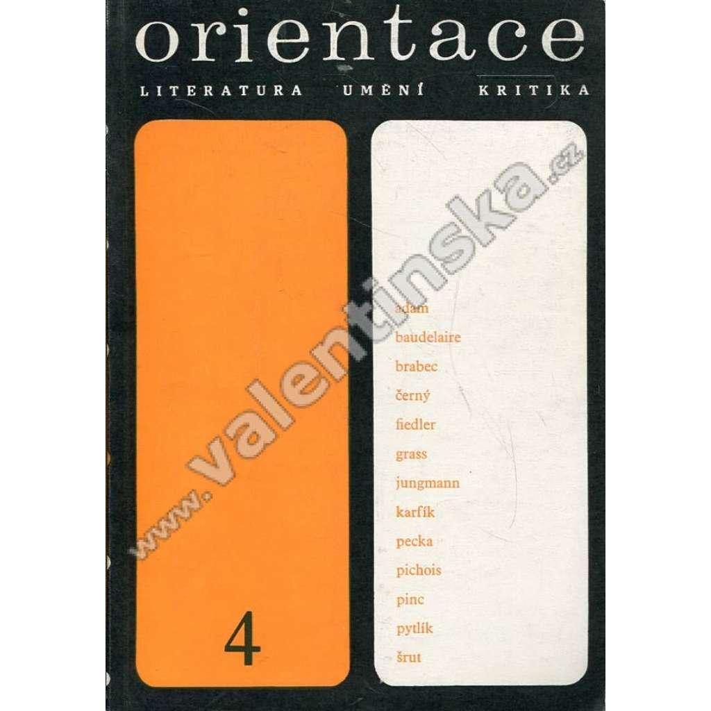 Orientace, 4/1969