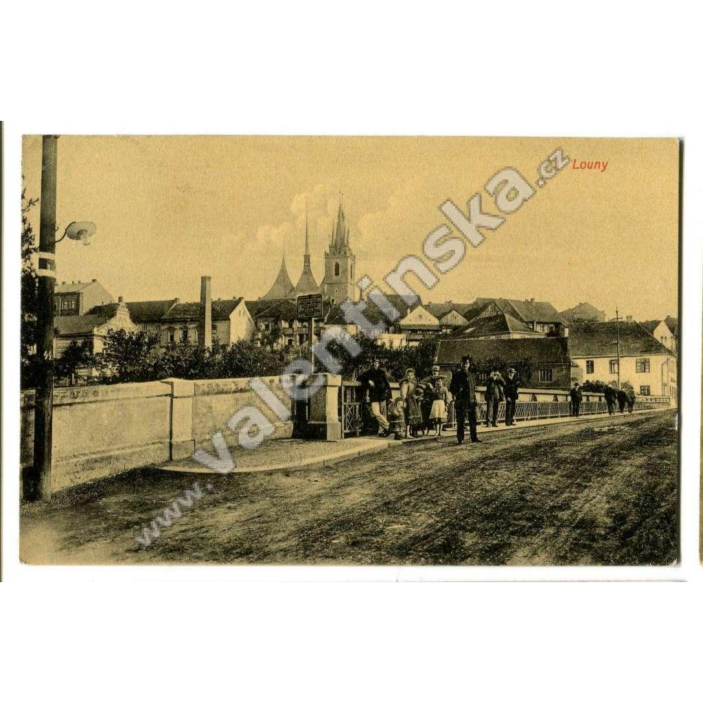 Louny, most na Dobroměřice