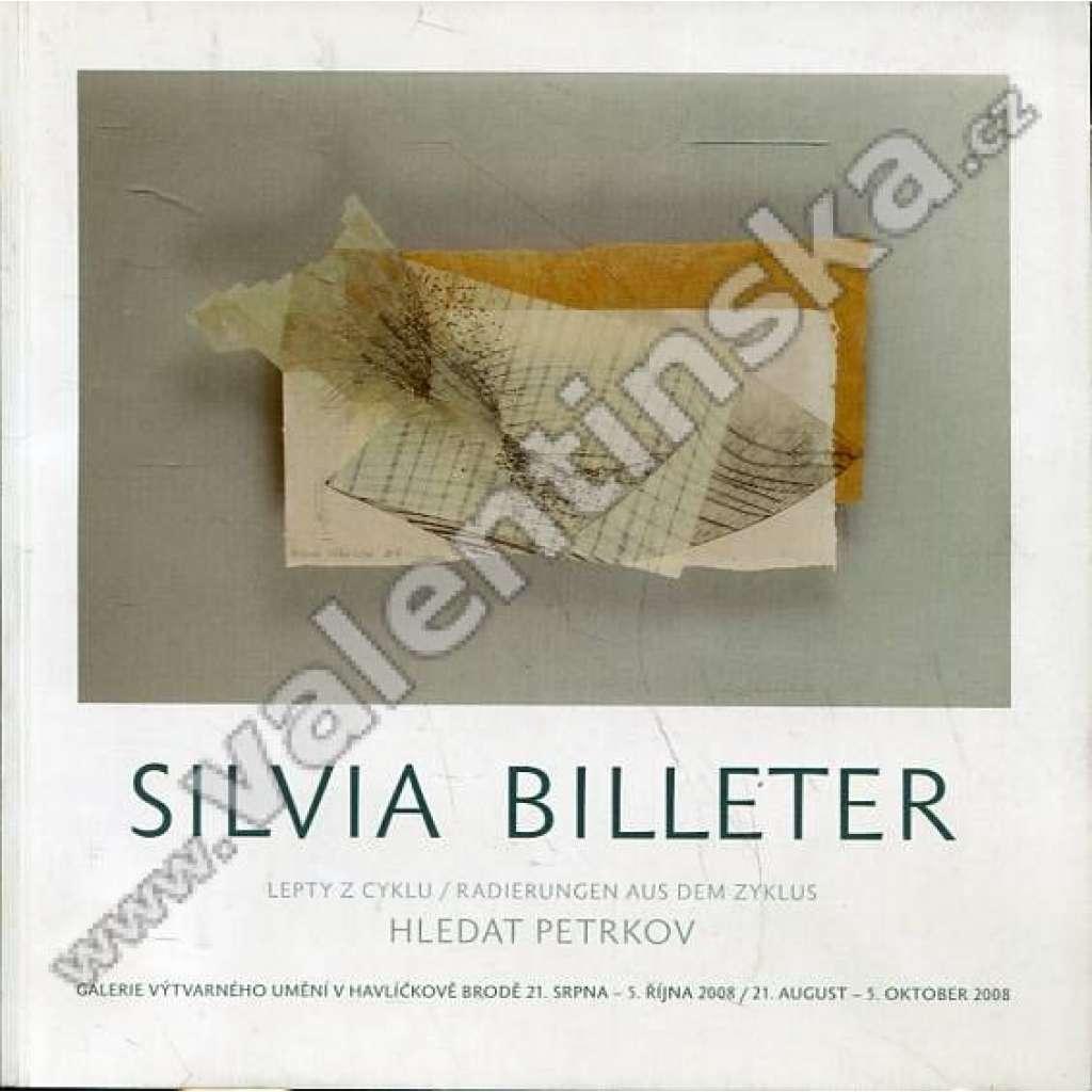 Silvia Billeter: Lepty z cyklu Hledat Petrkov