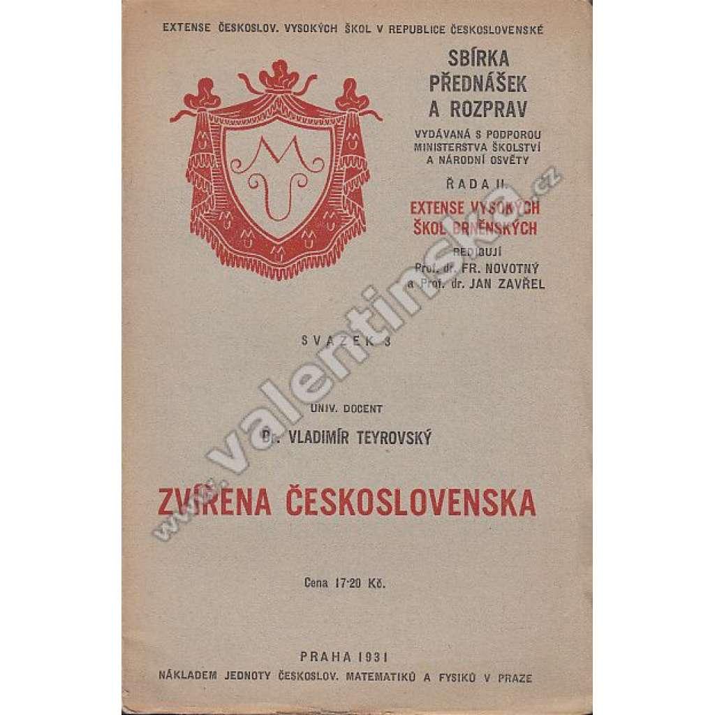 Zvířena Československa