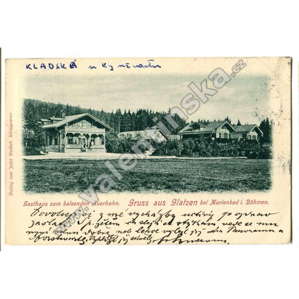 Kladská Glatzen, Mariánské Lázně,, Cheb.