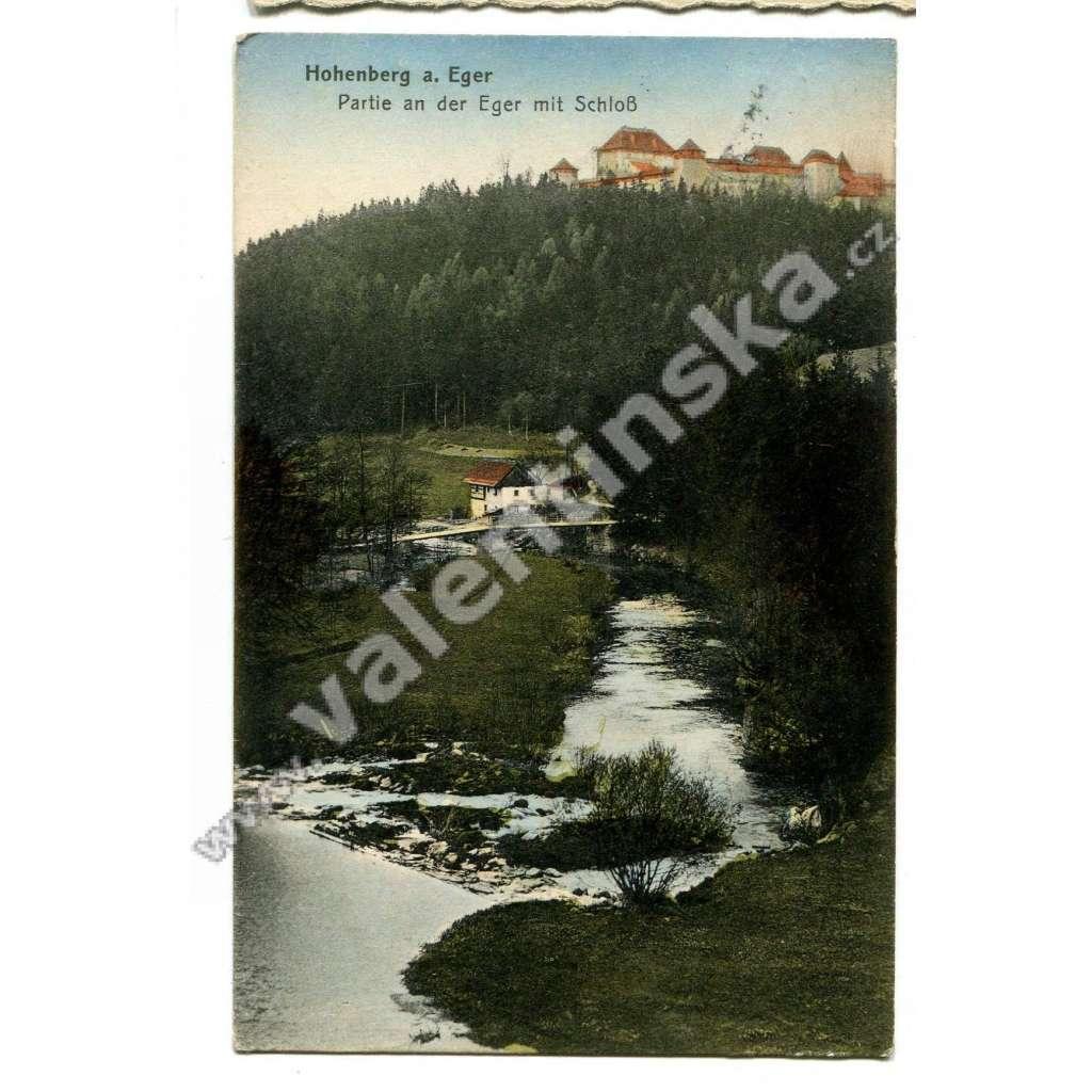 Hohenberg am Eger, Bavorsko, směr Cheb