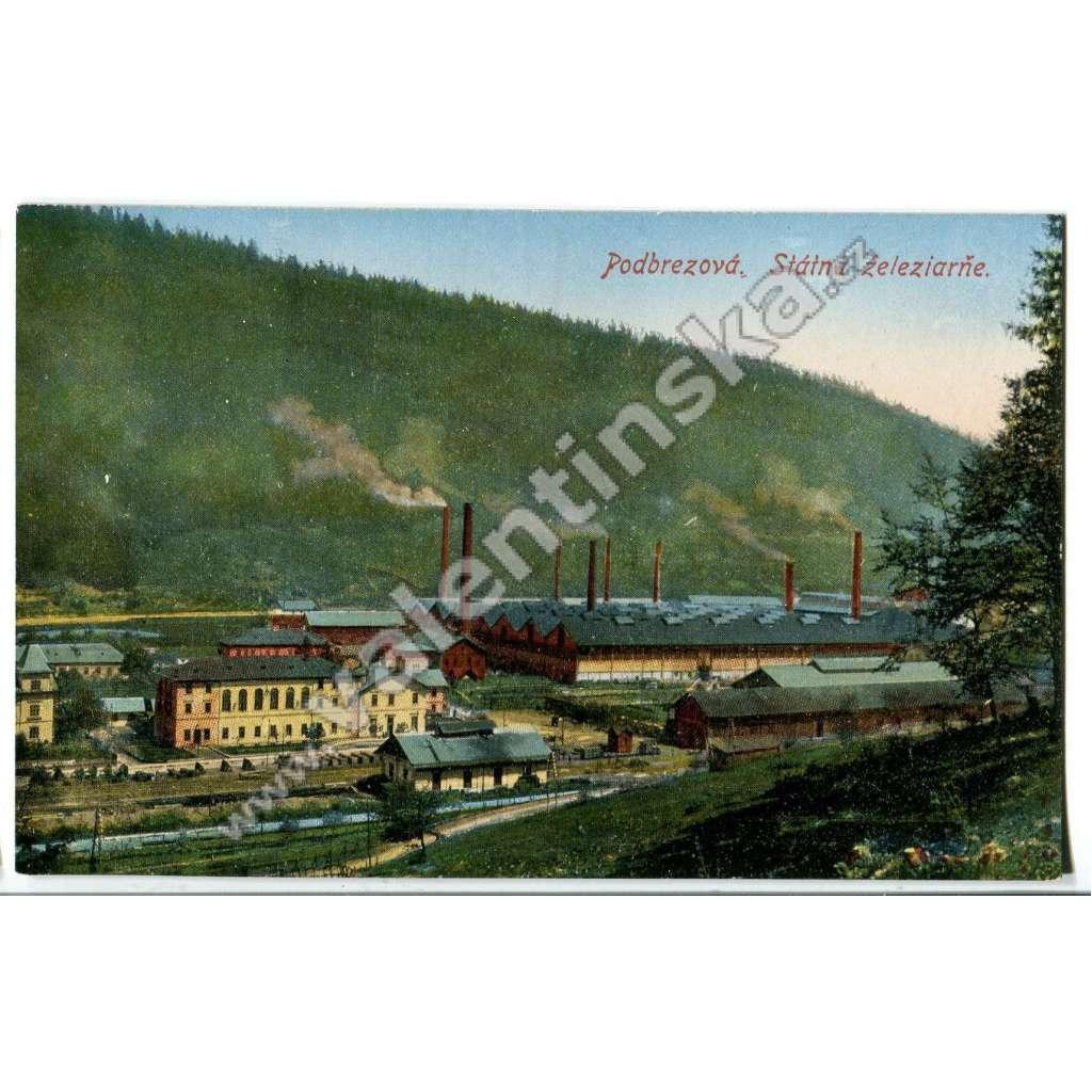 Podbrezová, Brezno,, Banská Bystrica, továrna