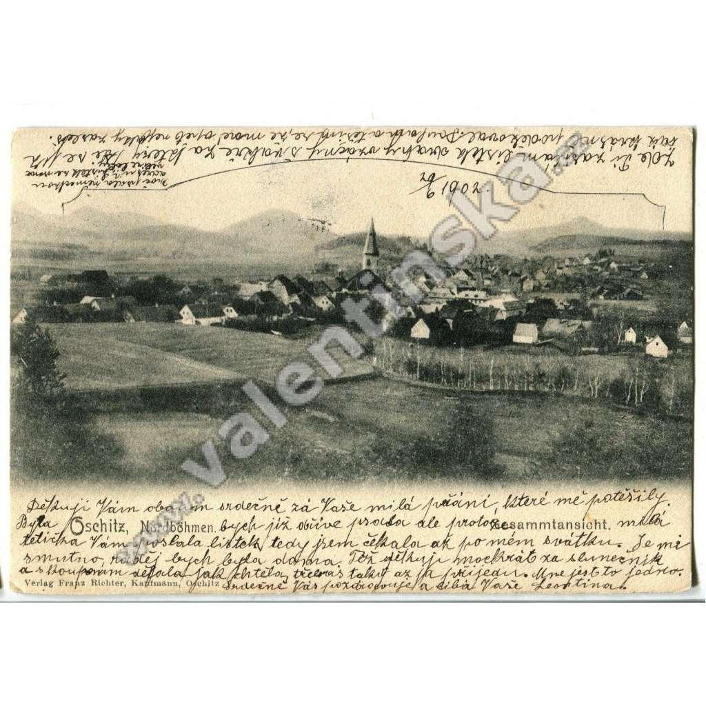 Osečná Oschitz, Liberec.