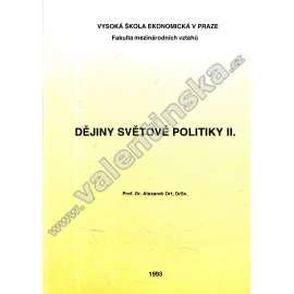 Dějiny světové politiky II.