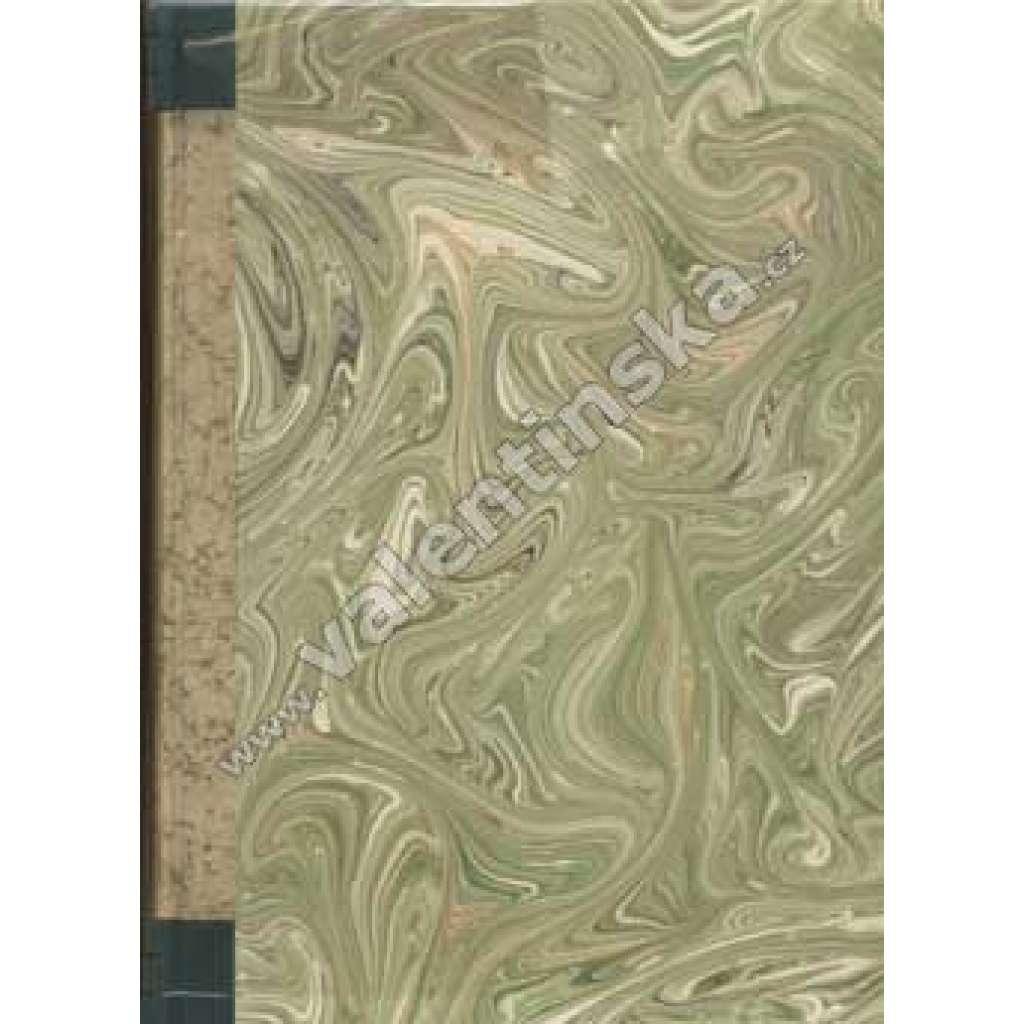 Blok - časopis pro umění, roč. II. a III., 2 sv.