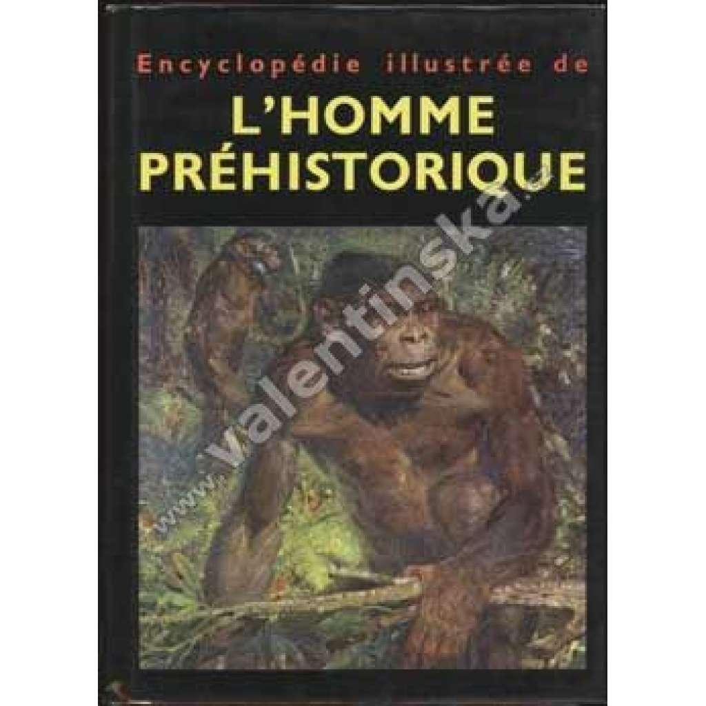 L´homme préhistorique-francouzsky-Burian