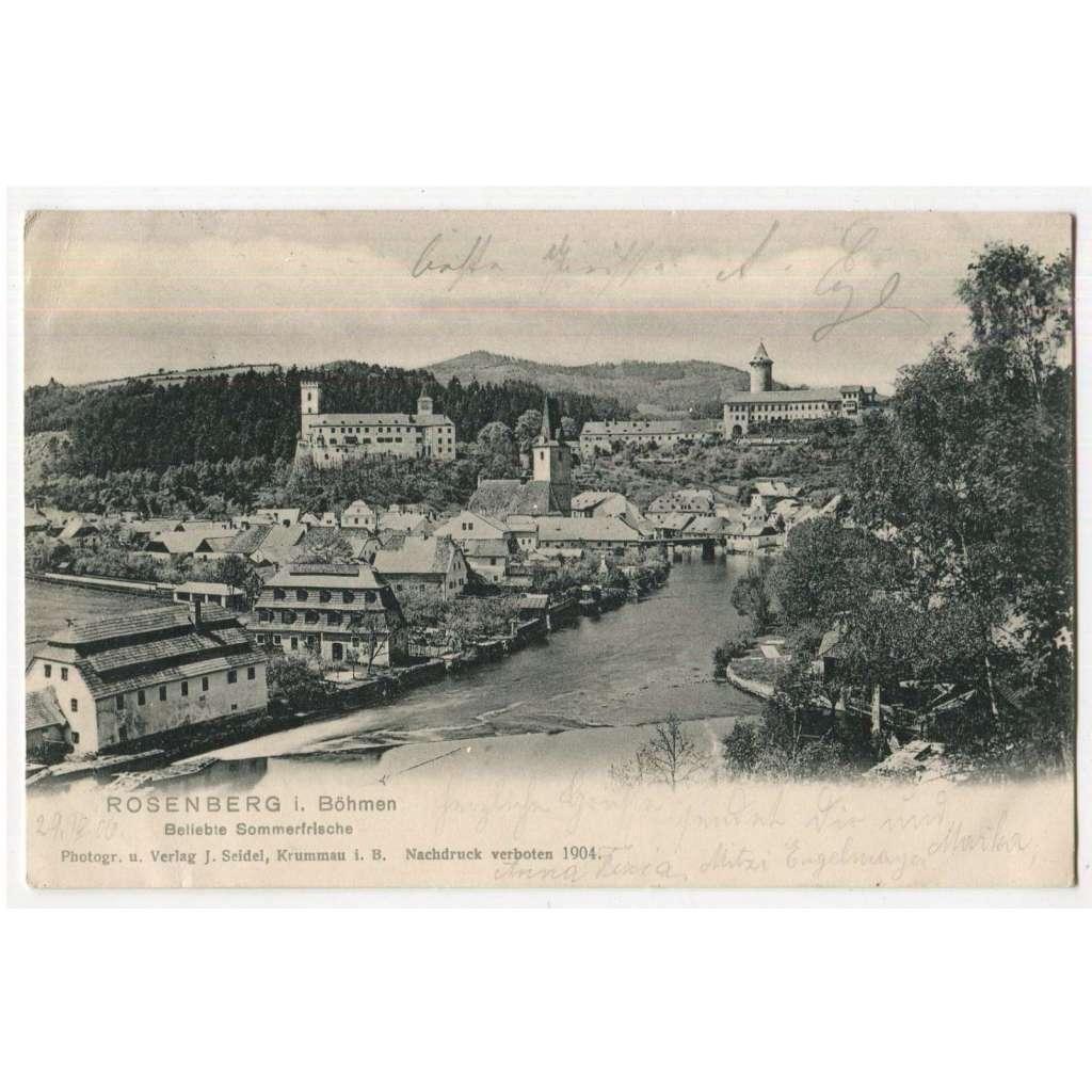 Rožmberk, Český Krumlov