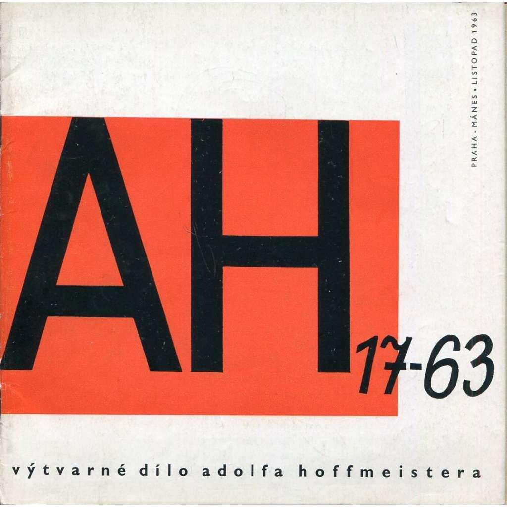 Výtvarné dílo Adolfa Hoffmeistera (Adolf Hoffmeister)