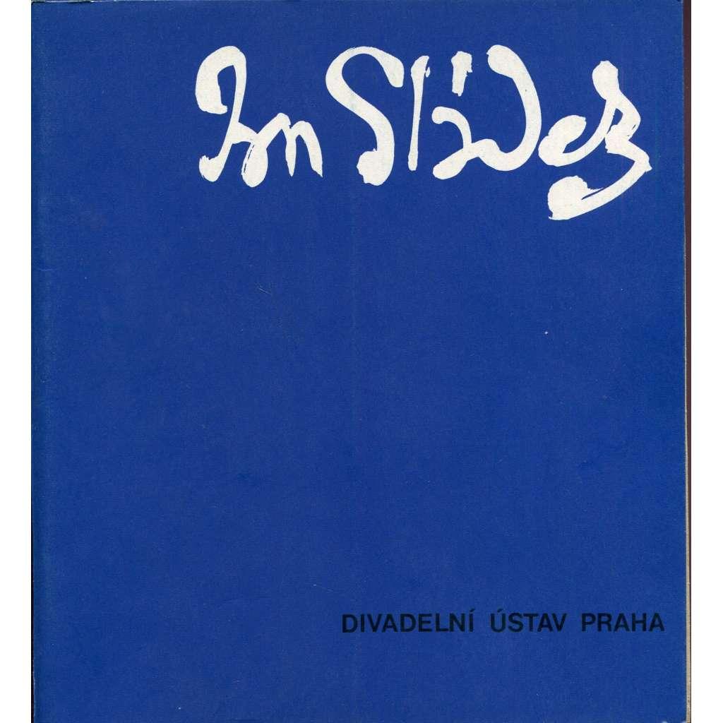 Jan Sládek (scénografie, ed. Režisér-scénograf)