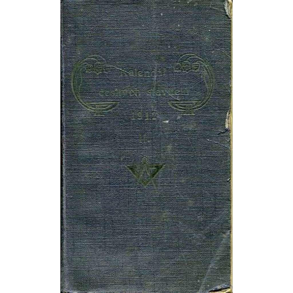 Kalendář českých stavitelů na r. 1912